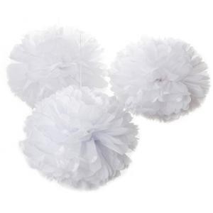 Pom set 'Only white'-0