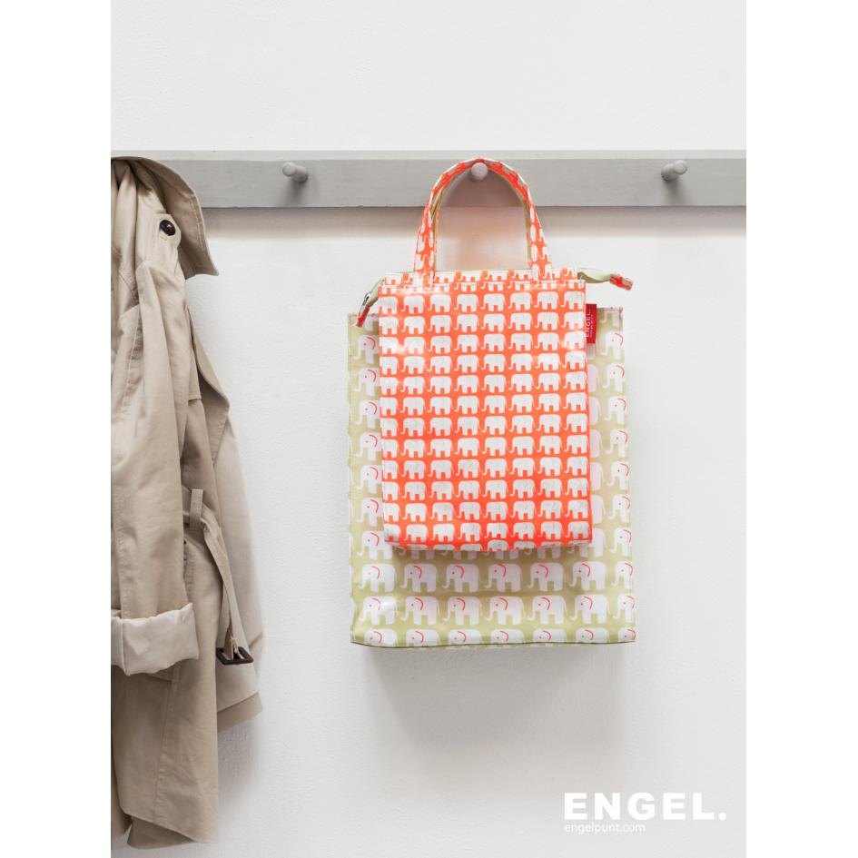 Shopper small 'Elephant Neon'-945