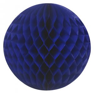 Dark blue honeycomb ball-0