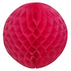 Roze honeycomb ball-0