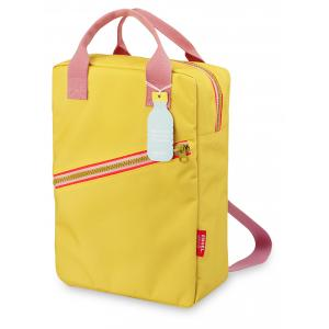 Rugzak large 'Zipper Yellow'-0