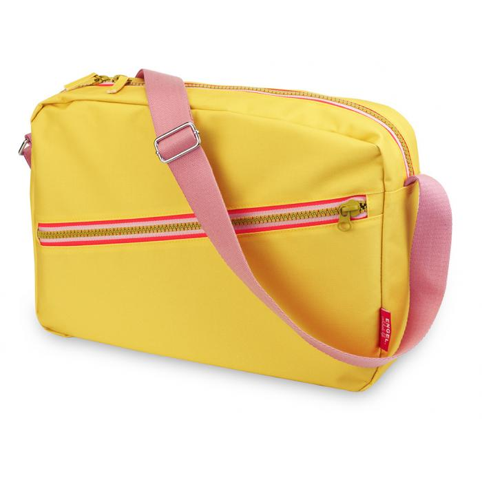 Schoudertas 'Zipper Yellow'-0