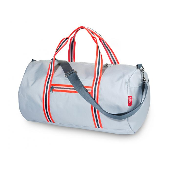 ENGEL. Weekendtas Zipper 2.0 light blue