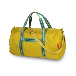 ENGEL. Weekend bag Zipper 2.0 mustard