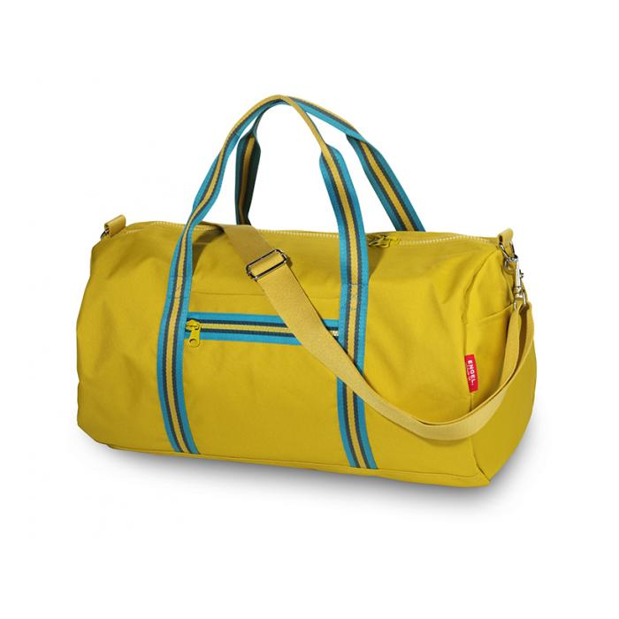 ENGEL. Weekendtas Zipper 2.0 mustard