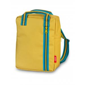 ENGEL. Backpack medium Zipper 2.0 mustard